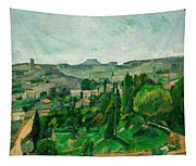 Landscape In The Ile-de-france Tapestry