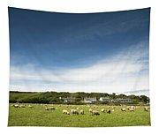 Landscape Near East Prawle In England Tapestry