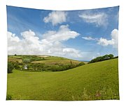 Landscape Near Hallsands In Devon Gb Tapestry