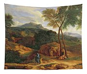 Landscape With Conopion Carrying Tapestry