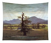 Landscape With Solitary Tree Tapestry