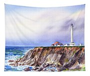 Lighthouse Point Arena California  Tapestry