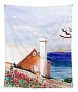 Lane In Old Bermuda Tapestry