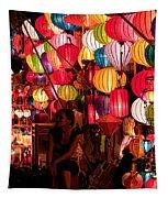 Lantern Stall 02 Tapestry