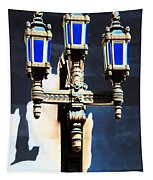 Lanterns Out Of The Blue Tapestry