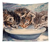 Lap Of Luxury Kittens Tapestry