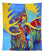 Large Moose Tapestry