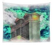 Las Vegas Caesars Photo Art Tapestry