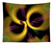 Laser Lights Abstract Tapestry