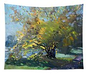 Late Afternoon By The River Tapestry
