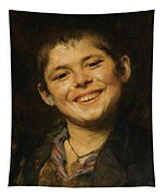 Laughing Boy Tapestry