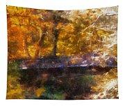 Laura Bradley Park Foot Bridge 02 Tapestry