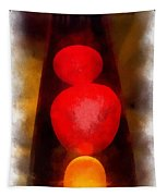 Lava Lamp Photo Art 04 Tapestry