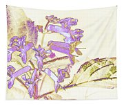 Lavender And Gold Tapestry