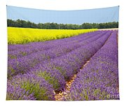 Lavender And Mustard Tapestry
