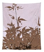Lavender And Taupe Haiku Tapestry