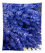 Lavender Bunch Flowers Tapestry