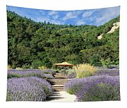 Lavender Path Tapestry