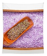 Lavender Seeds And Bath Salts Tapestry by Olivier Le Queinec