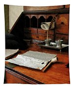 Lawyer - Quill Papers And Pipe Tapestry