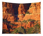Layers Of Red Rock Tapestry