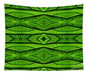 Leaf Structure Abstract Tapestry