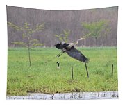Leaping Flight Tapestry