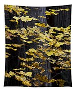 Leaves And Trees Tapestry