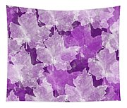 Leaves In Radiant Orchid Tapestry