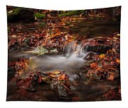 Leaves In The Creek Tapestry
