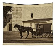 Leaving The Farm Tapestry