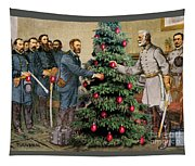 Lee And Grant At Appomattox Tapestry