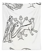 Legend Of The Priest And People Changed Tapestry