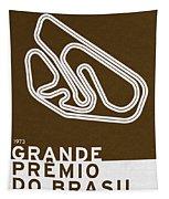 Legendary Races - 1973 Grande Premio Do Brasil Tapestry