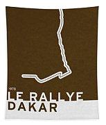 Legendary Races - 1978 Le Rallye Dakar Tapestry