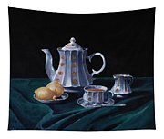 Lemons And Tea Tapestry