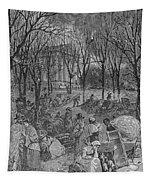 Lenox, Massachusetts, From Historical Collections Of Massachusetts, John Warner Barber, Engraved Tapestry