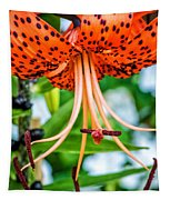 Leopard Lily Tapestry