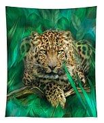 Leopard - Spirit Of Empowerment Tapestry