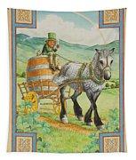 Leprechaun Tapestry by Lynn Bywaters