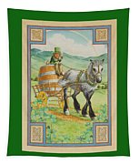 Leprechaun Tapestry by Lynn Bywaters