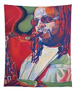 Leroi Moore Colorful Full Band Series Tapestry