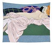 Les Cinq Sens Tapestry