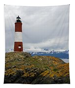 Les Eclaireurs Lighthouse Southern Patagonia Tapestry
