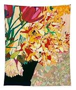 Les Fleur Tapestry