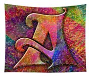 Letter A Tapestry
