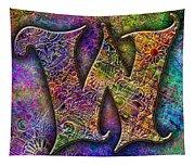 Letter W Tapestry
