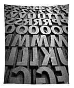 Letters Tapestry