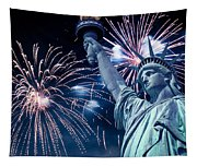Liberty Fireworks Tapestry
