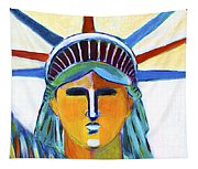 Liberty In Colors Tapestry